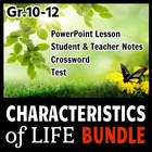 The Characteristics of Life - LESSON BUNDLE