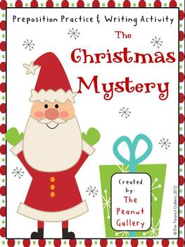 Christmas Mystery - Prepositions & Writing Activities for Kids Homeschool Christmas Activities for Kids {Weekend Links} from HowToHomeschoolMyChild.com