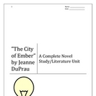 The City of Ember novel study / literature response unit (37 pgs)
