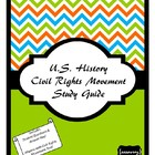The Civil Rights Movement Study Guide