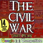 The Civil War - A Unit Plan!  11 highly-engaging, hands-on