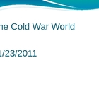 The Cold War World