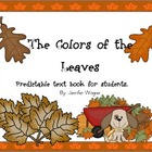 The Colors of the Leaves---a predictable text book for beg