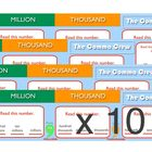 The Comma Crew Desktop Stickers SET OF TEN