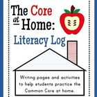 The Core at Home: Literacy Log