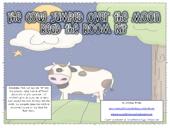 The Cow Jumped Over the Moon Read the Room Kit