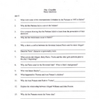 The Crucible Act 1 Study Questions