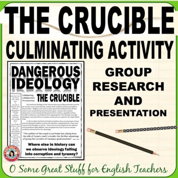 The Crucible: Dangerous Ideology Group Research Presentation