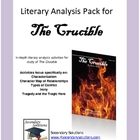 The Crucible Standards Focus Literary Analysis Pack