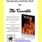 The Crucible Vocabulary Activity Pack