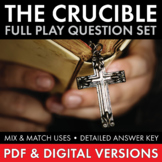 The Crucible, Worksheets Quizzes Discussion & HW for Arthu