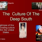 The Culture Of The Deep South