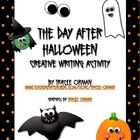 The Day After Halloween Creative Writing Activity