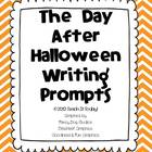 The Day After Halloween Writing Prompts