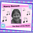 The Days of the Week by Nancy Bennett