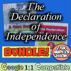 The Declaration of Independence Bundle:  2 Great Activitie