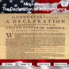 The Declaration of Independence (Paraphrased and Questions)