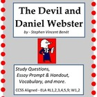 The Devil and Daniel Webster:  Study Questions, Essay, and more.