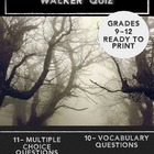 """The Devil and Tom Walker""  Quiz --Mult. Choice,Short Answ"