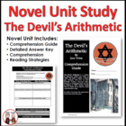 The Devil&#039;s Arithmetic Reading Comprehension Activity Guide