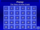 The Diary of Anne Frank Frenzy Game for SmartBoard/PC
