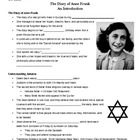 The Diary of Anne Frank - Intro Outline