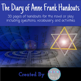 The Diary of Anne Frank Unit Handouts