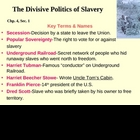 The Divisive Politics of Slavery-Chp.4,Sec.1