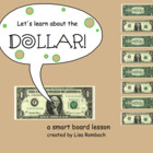 The Dollar Math SmartBoard Lesson Primary Grades