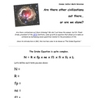 The Drake Equation - Complex Estimations using our Universe