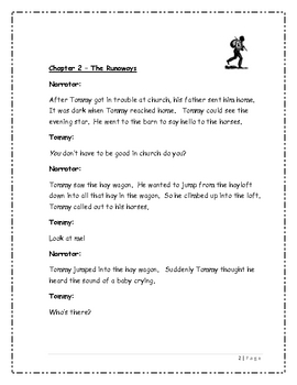 The Drinking Gourd Reader's Theater Script - 3rd Grade