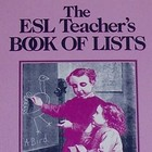 The ESL Teacher's Book of Lists - Reproducibles