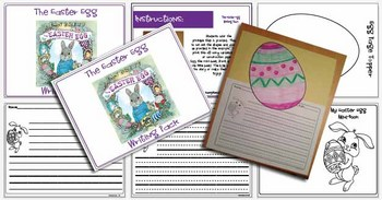 The Easter Egg Writing Pack