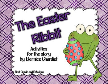 http://www.teacherspayteachers.com/Product/The-Easter-Ribbit-Literacy-Activities-229412