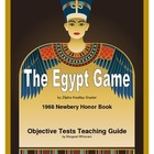 The Egypt Game Objective Tests Teaching Pack