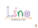 The Elements of Art - Line PowerPoint Presentation and Quiz