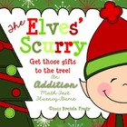 The Elves' Scurry ~Additon Math Fact Fluency Game~