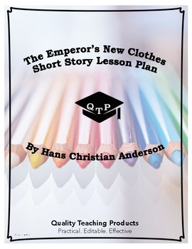 The Emperor's New Clothes Lesson Plans, Worksheets with Ke