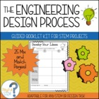 The Engineering Design Process: Guided Booklet Kit for STE