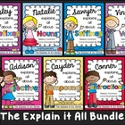 The Explain it All BUNDLE