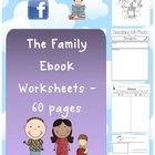 The Family Ebook - Worksheets - Themed Unit - 60 pages