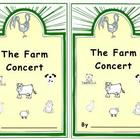 """The Farm Concert"" Emergent Reader"