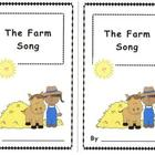 &quot;The Farm Song&quot; Emergent Reader