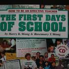 The First Days of School: How to be an Effective Teacher w