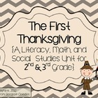The First Thanksgiving- Math, Literacy, Science Unit- Pilg