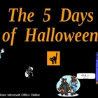 The Five Days of Halloween Shared Reading PowerPoint for K