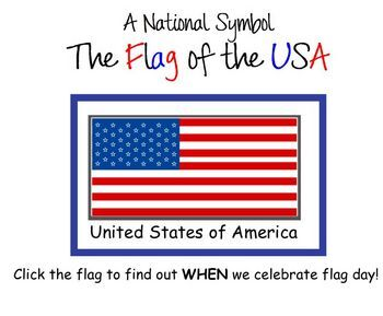 The Flag, A National Symbol of the USA SmartBoard Lesson