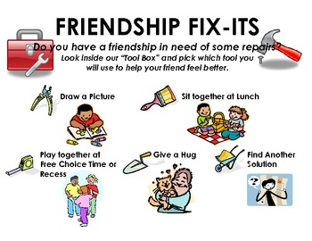 "The ""Friendship Fix-It"" Corner"
