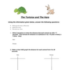 "The ""Functions"" of the Tortoise & The Hare"