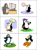 The Funny Penguins- Winter Kindergarten Pocket Chart to Ac